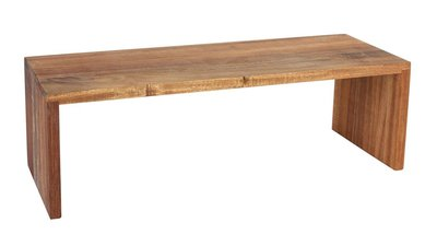 Houten plank hoog acacia 50 x 18 x 16 cm