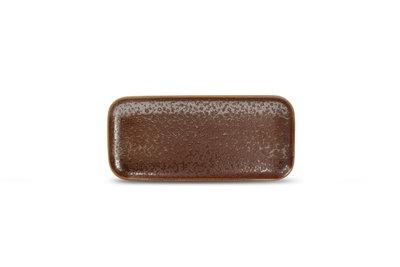 Bordje rechthoekig 22 x 10 cm Oxido rusty