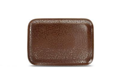Bord rechthoekig 28 x 20 cm Oxido Rusty