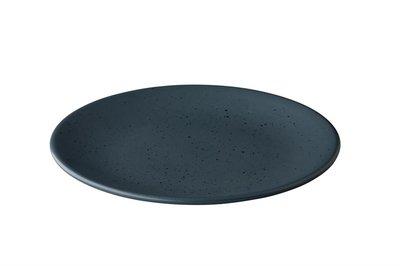 Bord Tinto 30 cm mat donkergrijs