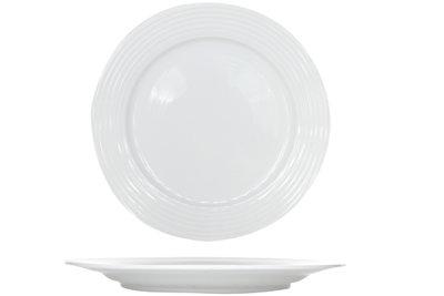 Linea white dessertbord 20,5 cm Cosy&Trendy