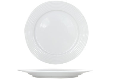 Linea white plat bord 25,5 cm Cosy & Trendy.