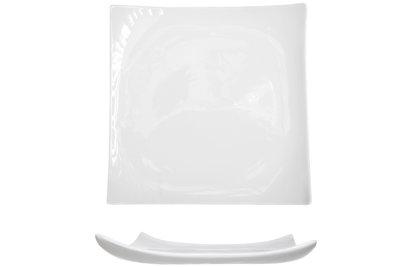 Trendy White plat bord 30x30cm