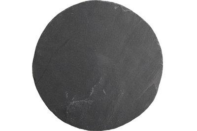 Leisteen bord rond 21 cm