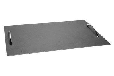 Leisteen bord 50x30 cm met handvatten