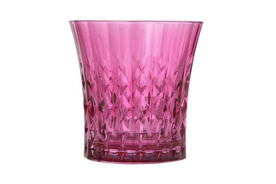 Glas 27 cl Cristal d'Arques Lady Diamond roze