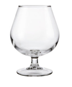 Cognacglas 25 cl getemperd Hostelvia