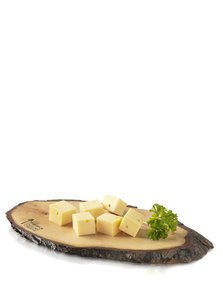 Kaas en tapas plank schors S