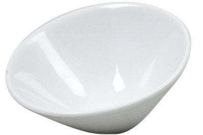 Schaaltje wit 9,5 cm