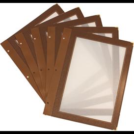 Insteekmappen menukaart set 5