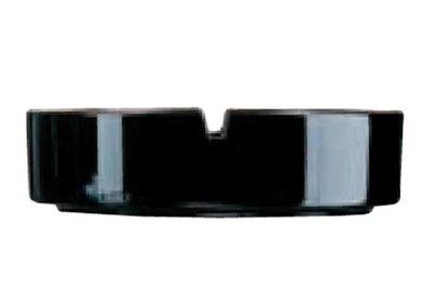 Asbak zwart 8,5 cm Horeca