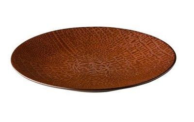 Bord rond 21 cm Croco