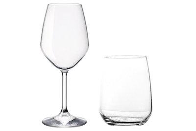 Glazenset Restaurant 8-delig wijnglazen en tumblers