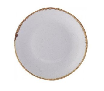 Bord rond coupe 24 cm Stone