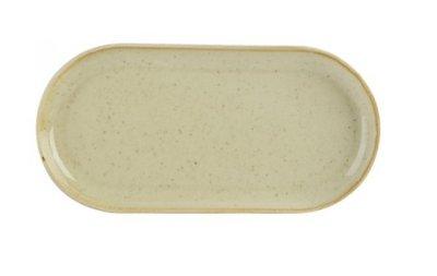 Bord ovaal smal 30 cm Wheat