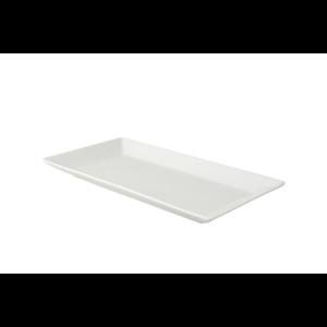Schaal 28,5x15 cm rechthoekig White Delight Palmer