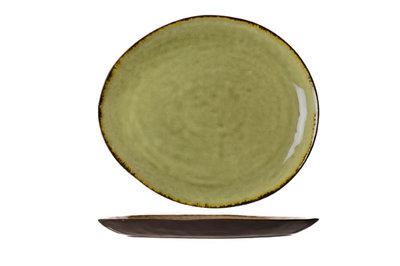 Bord ovaal 33 x 29,5 cm Mossa