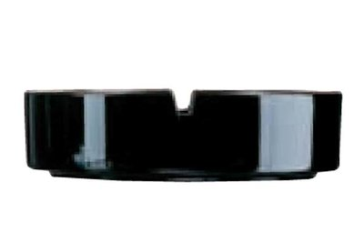 Asbak zwart 10,7 cm Horeca
