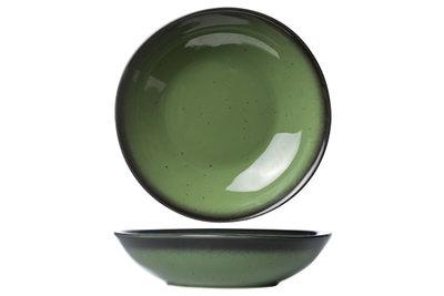 Diep bord 22 cm Vigo Emerald