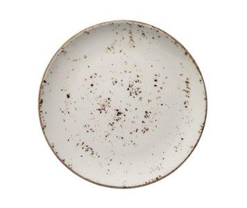 Bord 27 cm Beige Grain Aura