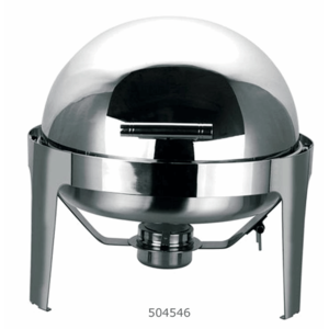 Chafing Dish rond met roltop Paris