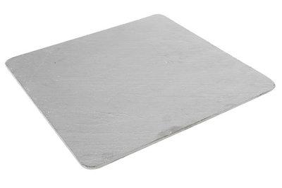 Leisteen bord 30x30 cm ronde hoeken