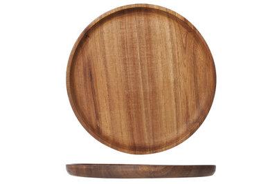 Houten bord 25 cm