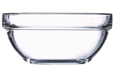 Empilable schaaltje glas 12 cm