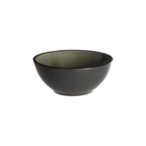 Schaaltje 9 cm bruin/mat zwart Asia Palmer