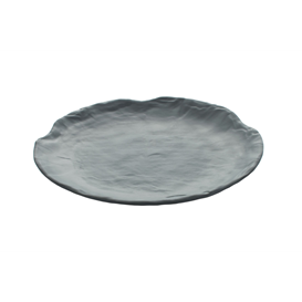 Bord 25,5 cm Endure Melamine grijs