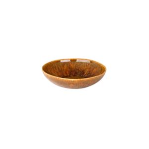 Diep bord 21 cm Rustique forest bruin