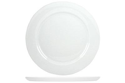 Pannenkoekenbord wit 300mm