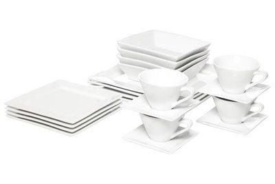 Napoli White Dinerset 20 delig