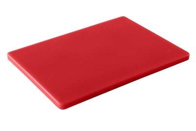 Professionele snijplank 530x320mm rood