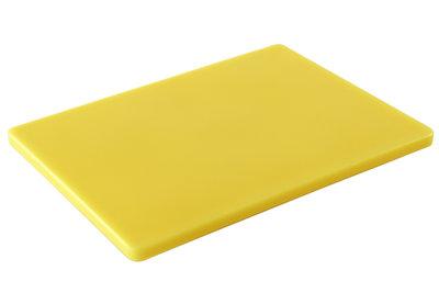 Professionele snijplank 400x300mm geel