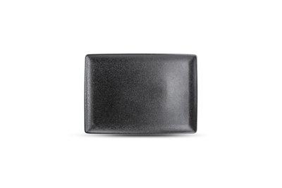 Bord 28 x 20 cm Dusk zwart