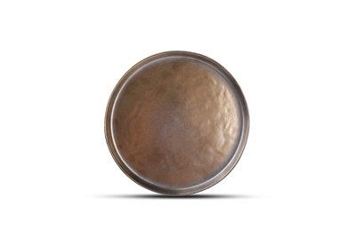 Bord 22 cm goud