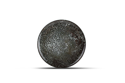 Bord plat 21 cm Cosmos Black