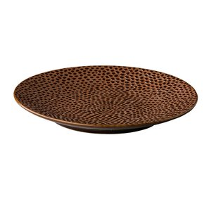 Bord rond 16 cm Leopard