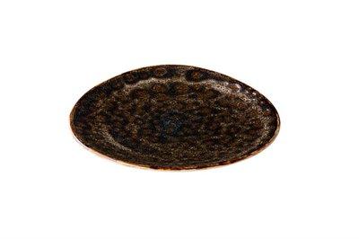 Bord 17 cm Triangle bruin Jersey