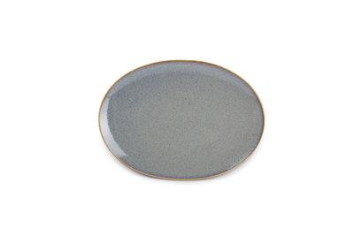 Bord ovaal 24 x 17 cm Yong Cirro Blue