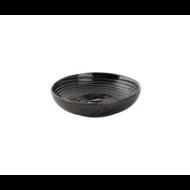 Bord diep 15 cm Metallic groen